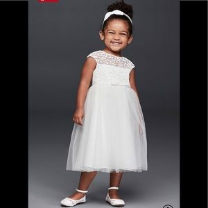 David's bridal flower girl dress sz 5